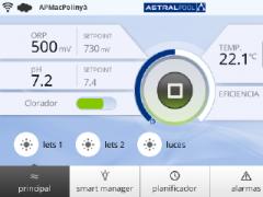 ASTRAPOOL MAC - Internet of Pools - Gestión de la piscina particular en remoto o directamente por wifi.
