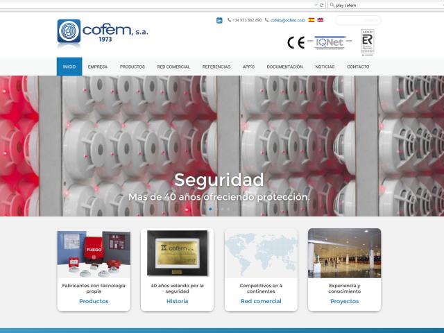 Cofem.com – WordPress con Themify