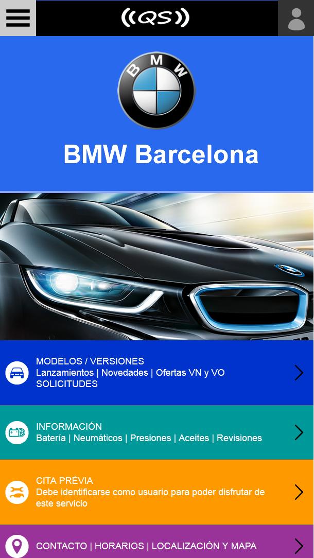 Qar System – WordPress theme webmobile con multi-site