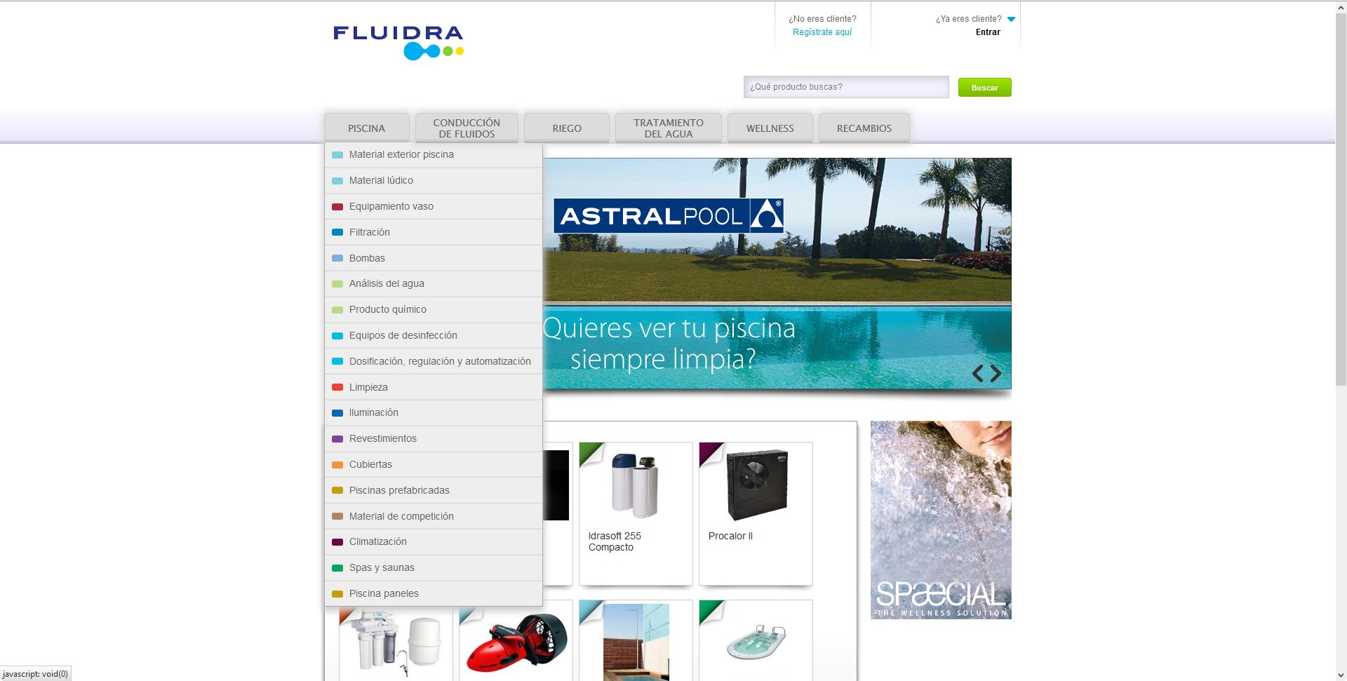 B2B Fluidra – Integración con AS400