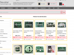 ElevatorCommerce.com - Desarrollo de módulos para distribución de despieces de Ascensores.