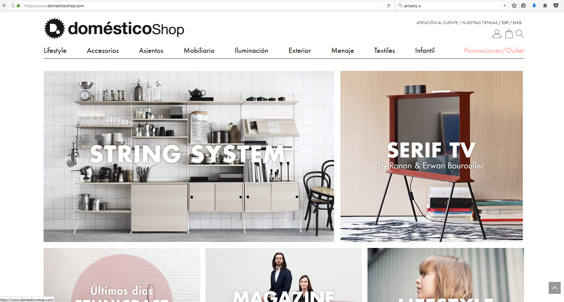 domesticoshop magento home