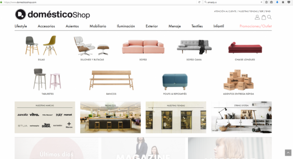 Domesticoshop.com – Magento
