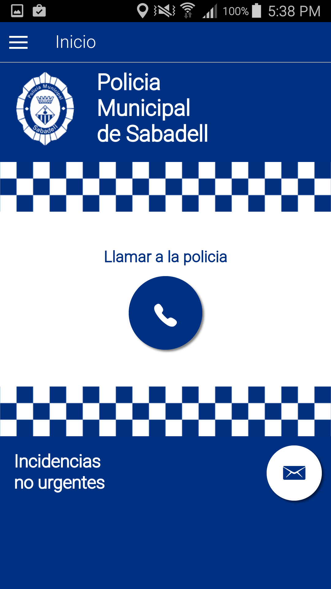 Ajuntament de Sabadell – IONIC App con Apache PhoneGap Crossplatform