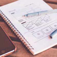 1- Creación de mock-ups para visualizar todo el proyecto